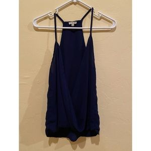 Lily White Crossover Tank Top